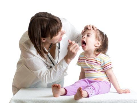 Как вылечить гнойную ангину у ребенка