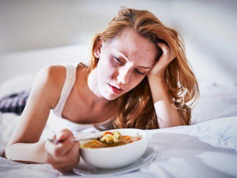 Почему слабость после еды