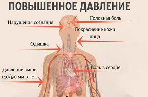 Повышенное артериальное давление симптомы