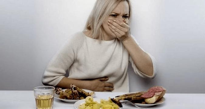 Тошнота после еды причины