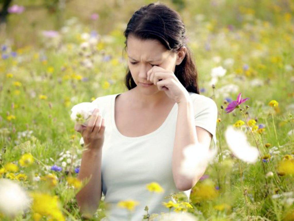 аллергия на пыльцу цветов